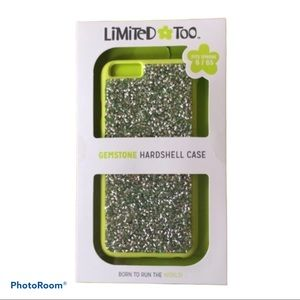 NEW iPhone 6/6s Lime Green Gemstone Phone Case